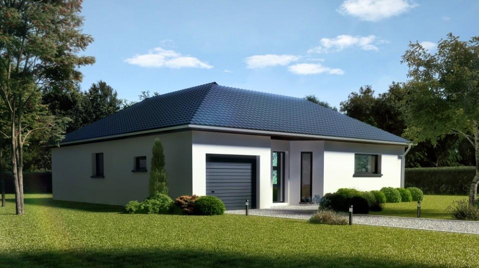 Maisons + Terrains du constructeur MAISONS NEO - MULHOUSE • 96 m² • MORSCHWILLER LE BAS