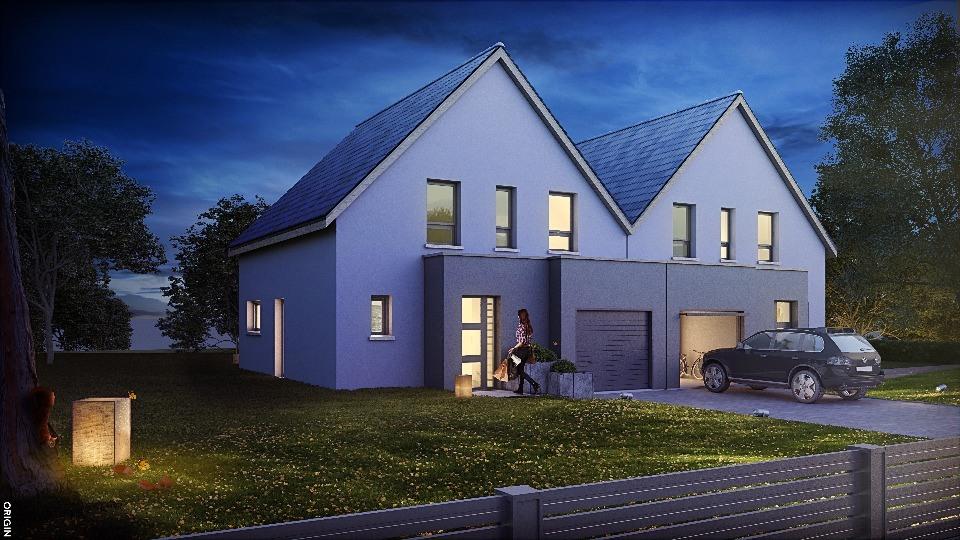 Maisons + Terrains du constructeur MAISONS NEO - MULHOUSE • 110 m² • THANN