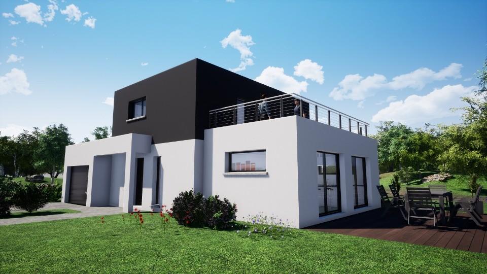 Maisons + Terrains du constructeur MAISONS NEO - MULHOUSE • 118 m² • FROENINGEN