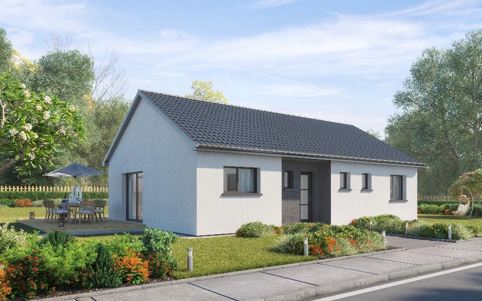 Maisons + Terrains du constructeur MAISONS NEO - MULHOUSE • 90 m² • PFASTATT