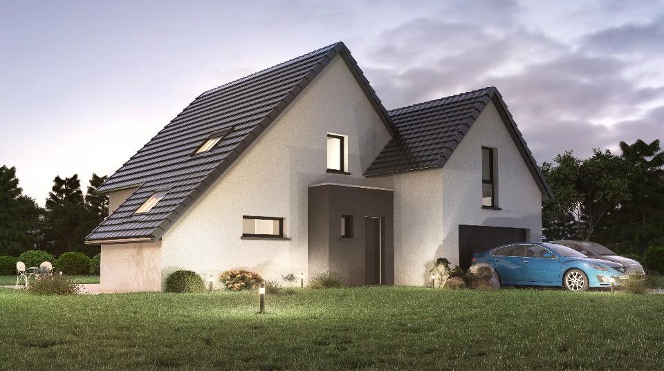 Maisons + Terrains du constructeur MAISONS NEO - MULHOUSE • 130 m² • PFASTATT