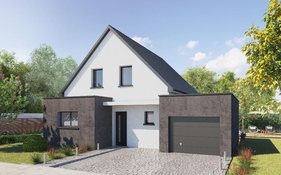 Maisons + Terrains du constructeur MAISONS NEO - MULHOUSE • 113 m² • PFASTATT