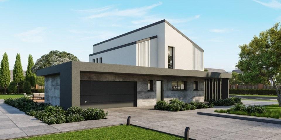 Maisons + Terrains du constructeur MAISONS NEO - MULHOUSE • 181 m² • BLODELSHEIM
