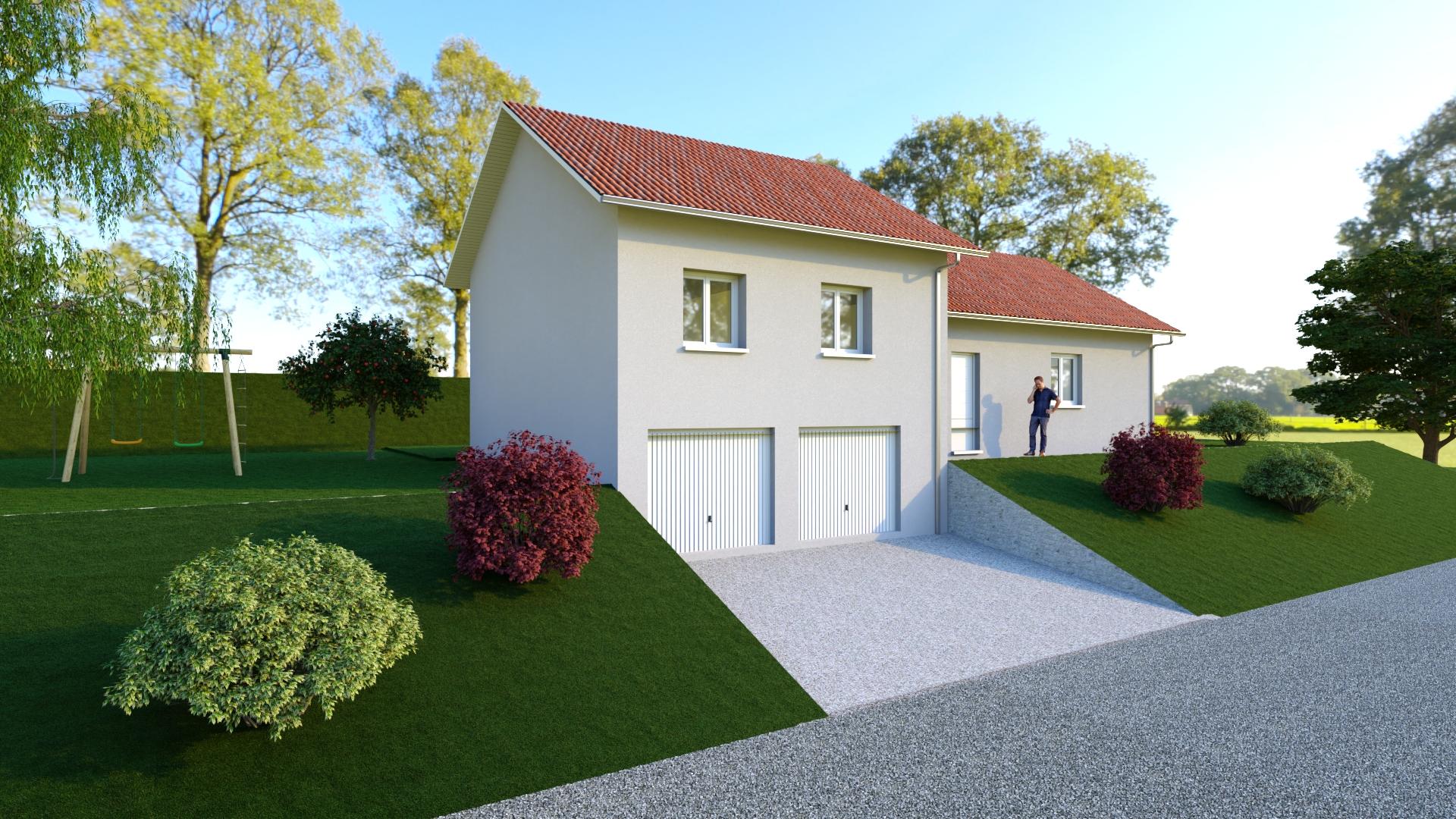 Maisons du constructeur MODULHABITAT - ANNECY • 105 m² • VALLIERES