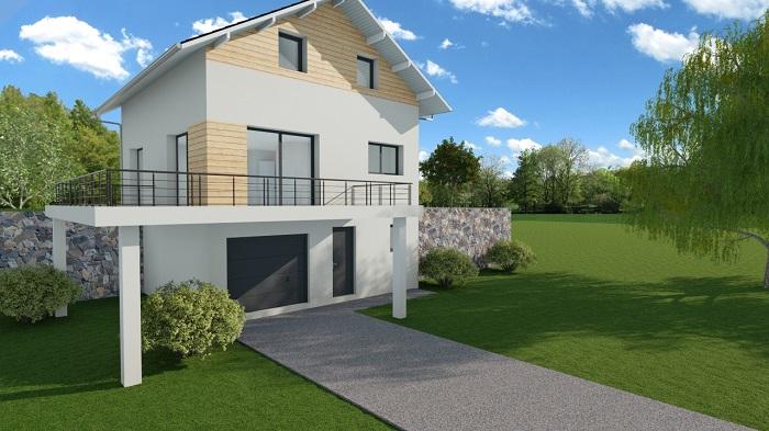 Maisons du constructeur MODULHABITAT - ANNECY • 98 m² • ONNION