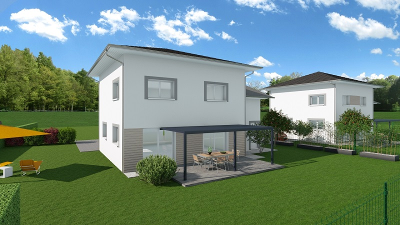 Maisons du constructeur MODULHABITAT - ANNECY • 115 m² • BONNE