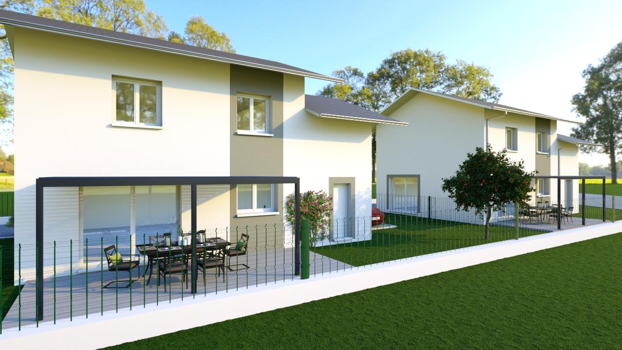 Maisons du constructeur MODULHABITAT - ANNECY • 107 m² • SAINT PIERRE EN FAUCIGNY