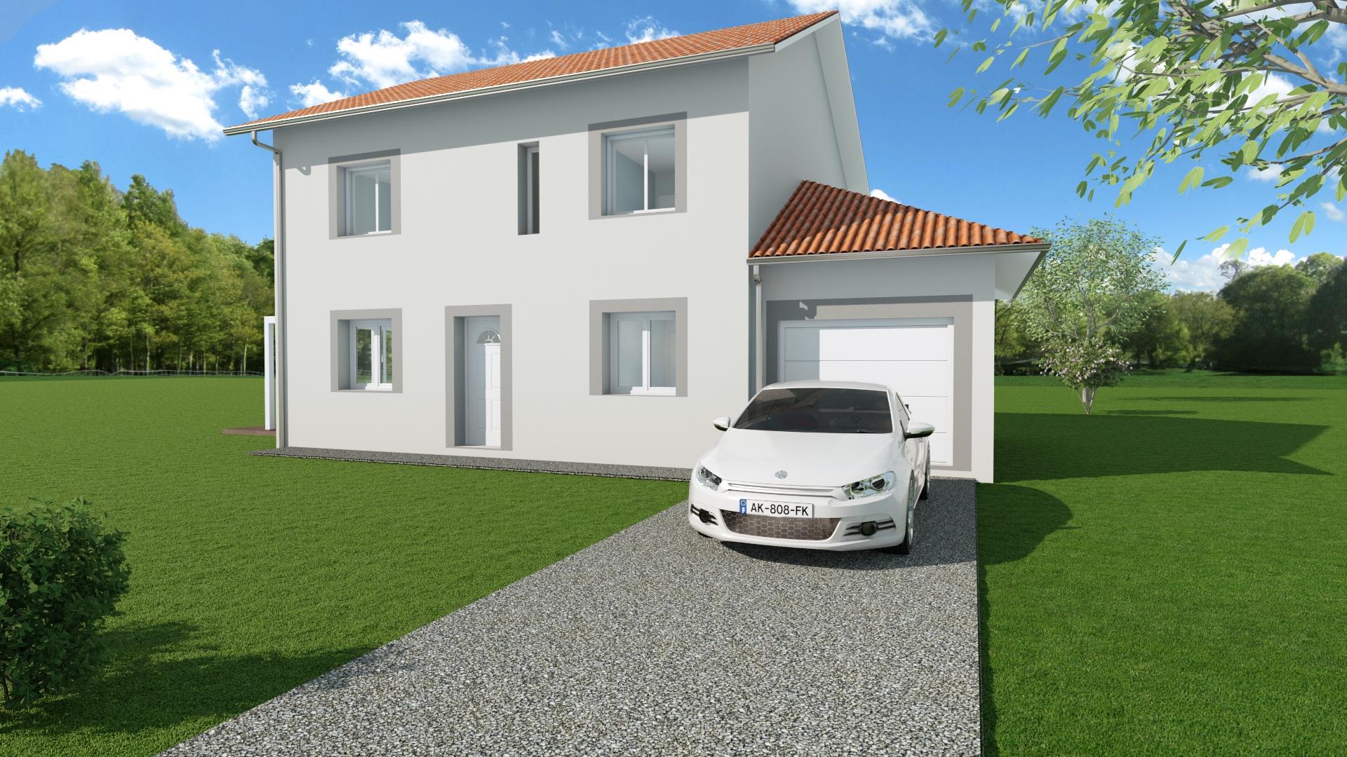 Maisons du constructeur MODULHABITAT - ANNECY • 100 m² • AIX LES BAINS