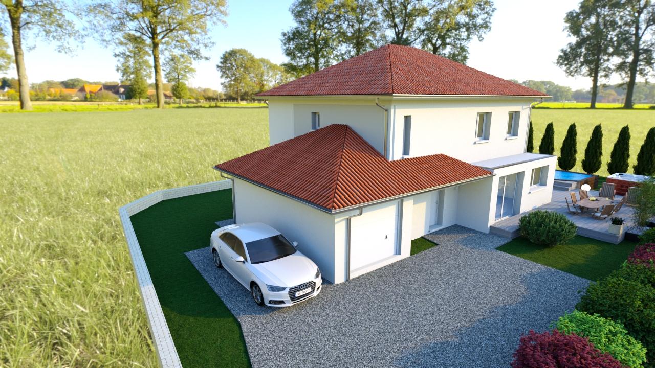 Maisons du constructeur MODULHABITAT - ANNECY • 150 m² • CHINDRIEUX