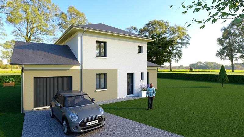 Maisons du constructeur MODULHABITAT - ANNECY • 115 m² • SCIONZIER