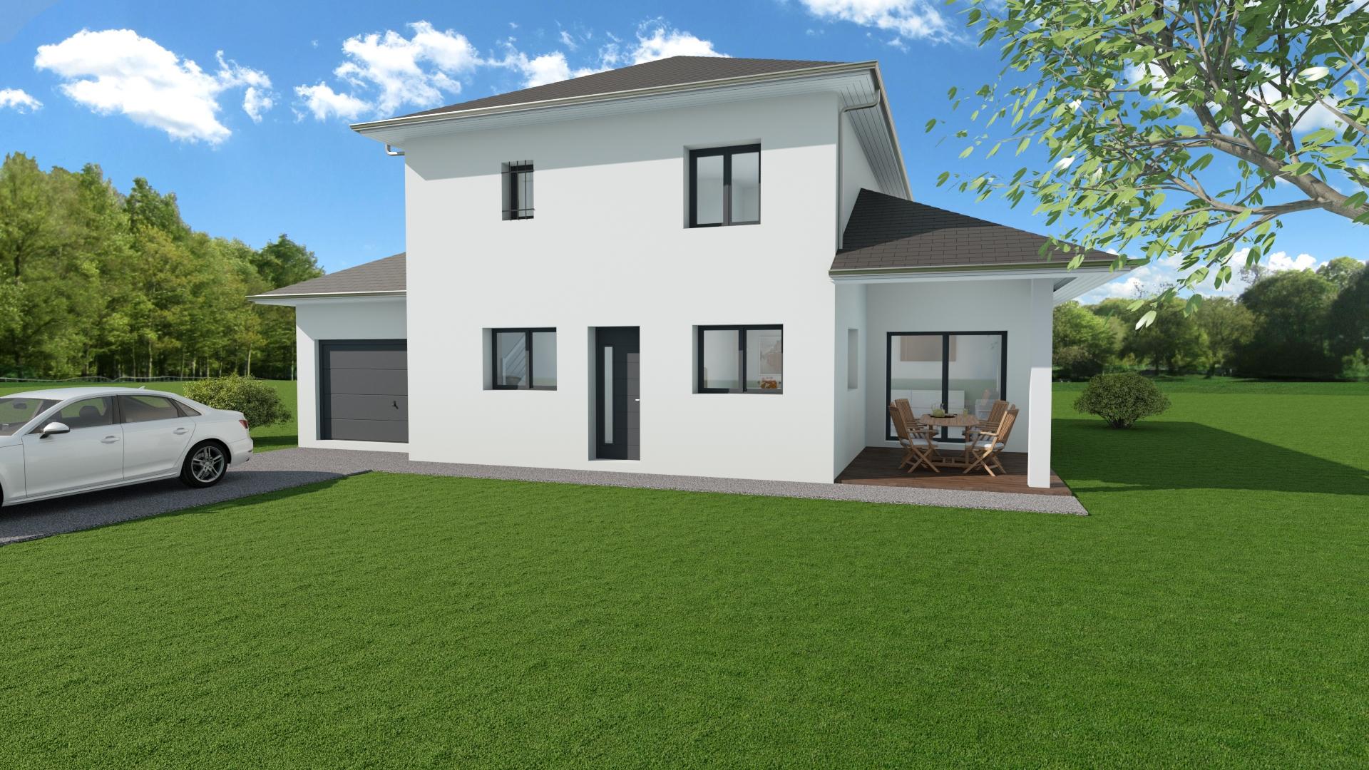 Maisons du constructeur MODULHABITAT - ANNECY • 110 m² • BONNEVILLE