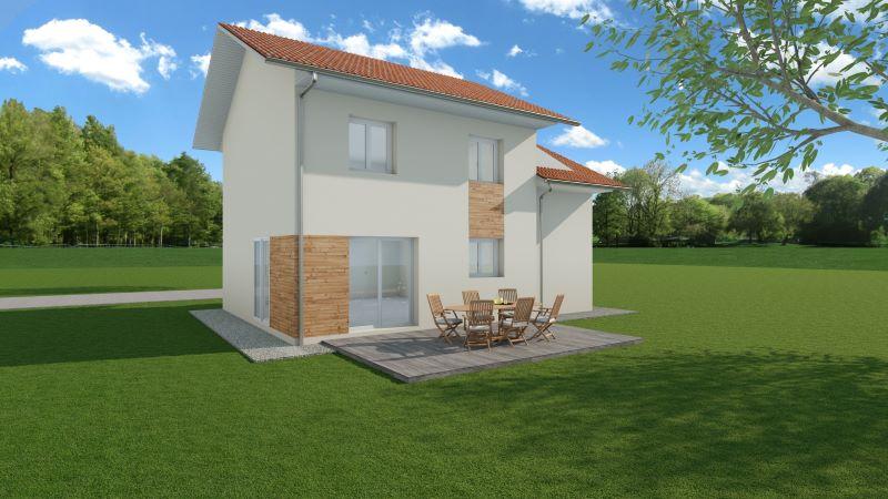 Maisons du constructeur MODULHABITAT - ANNECY • 100 m² • VALLIERES