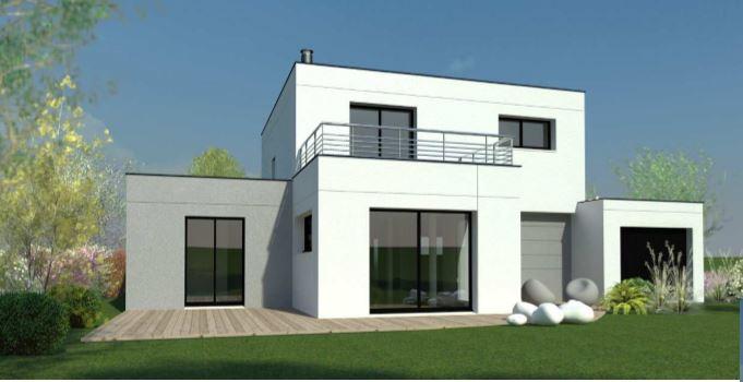 Maisons + Terrains du constructeur DESIGN HABITAT • 126 m² • MESQUER