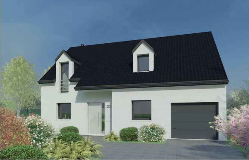 Maisons + Terrains du constructeur DESIGN HABITAT • 93 m² • DREFFEAC