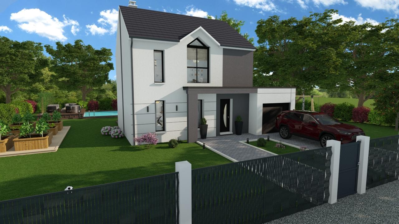 Maisons + Terrains du constructeur DESIGN HABITAT • 90 m² • PONTCHATEAU