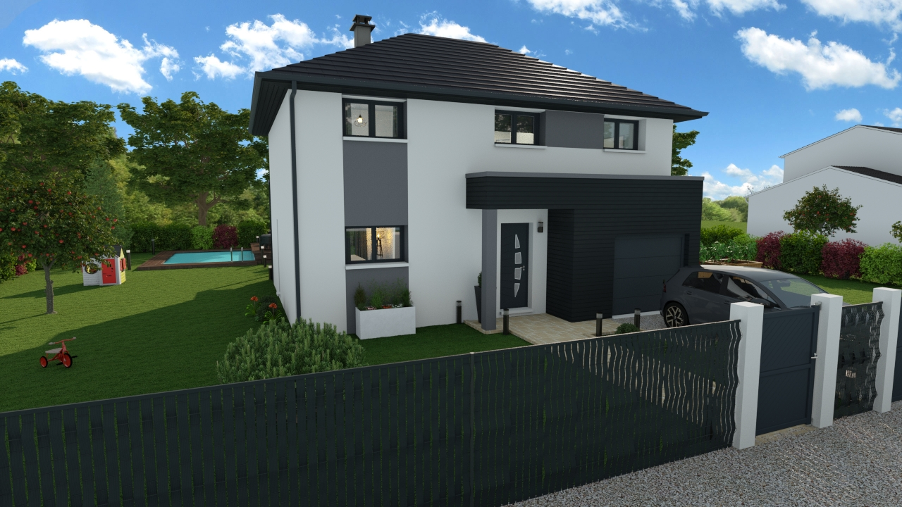 Maisons + Terrains du constructeur DESIGN HABITAT • 113 m² • SAINTE REINE DE BRETAGNE