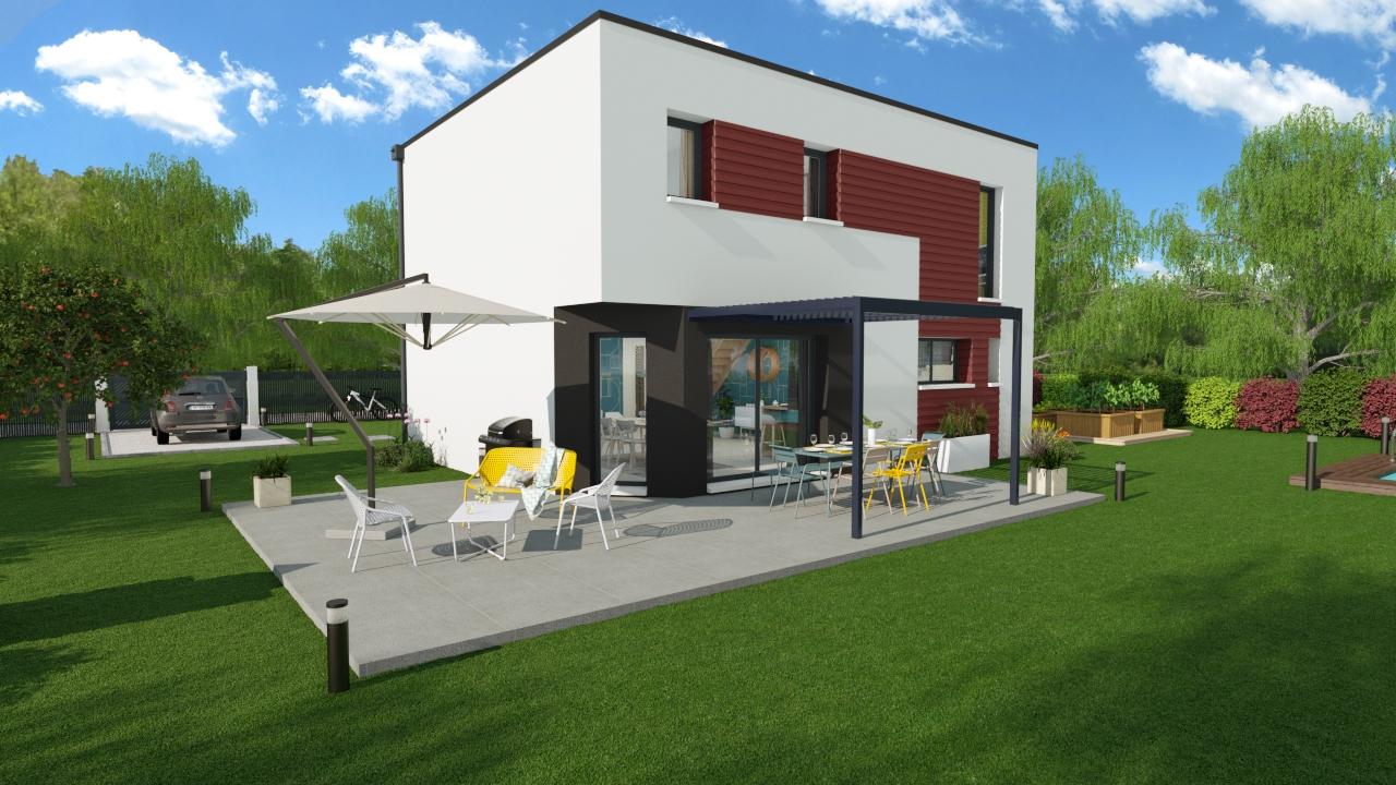 Maisons + Terrains du constructeur DESIGN HABITAT • 128 m² • PONTCHATEAU