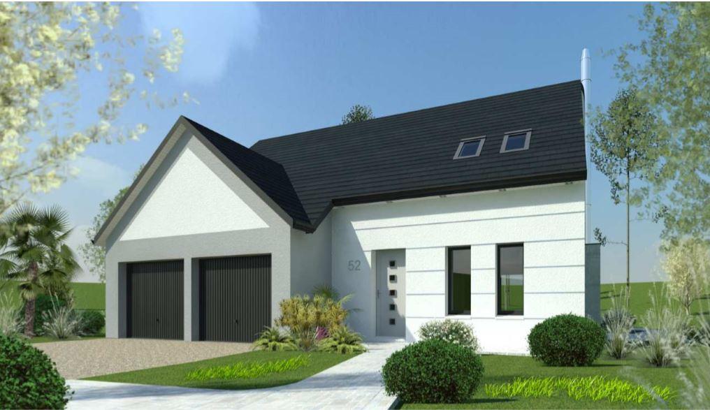 Maisons + Terrains du constructeur DESIGN HABITAT • 103 m² • MISSILLAC