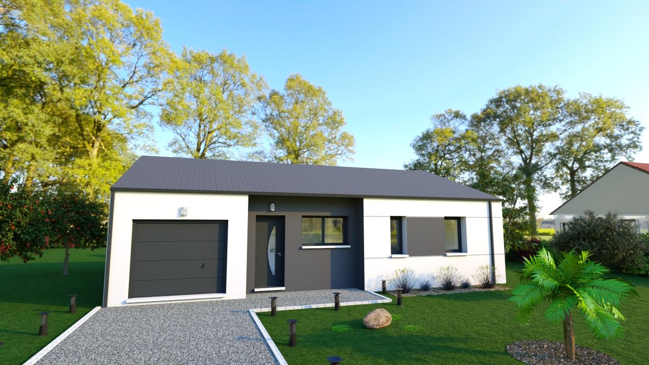 Maisons + Terrains du constructeur DESIGN HABITAT • SAINT MOLF