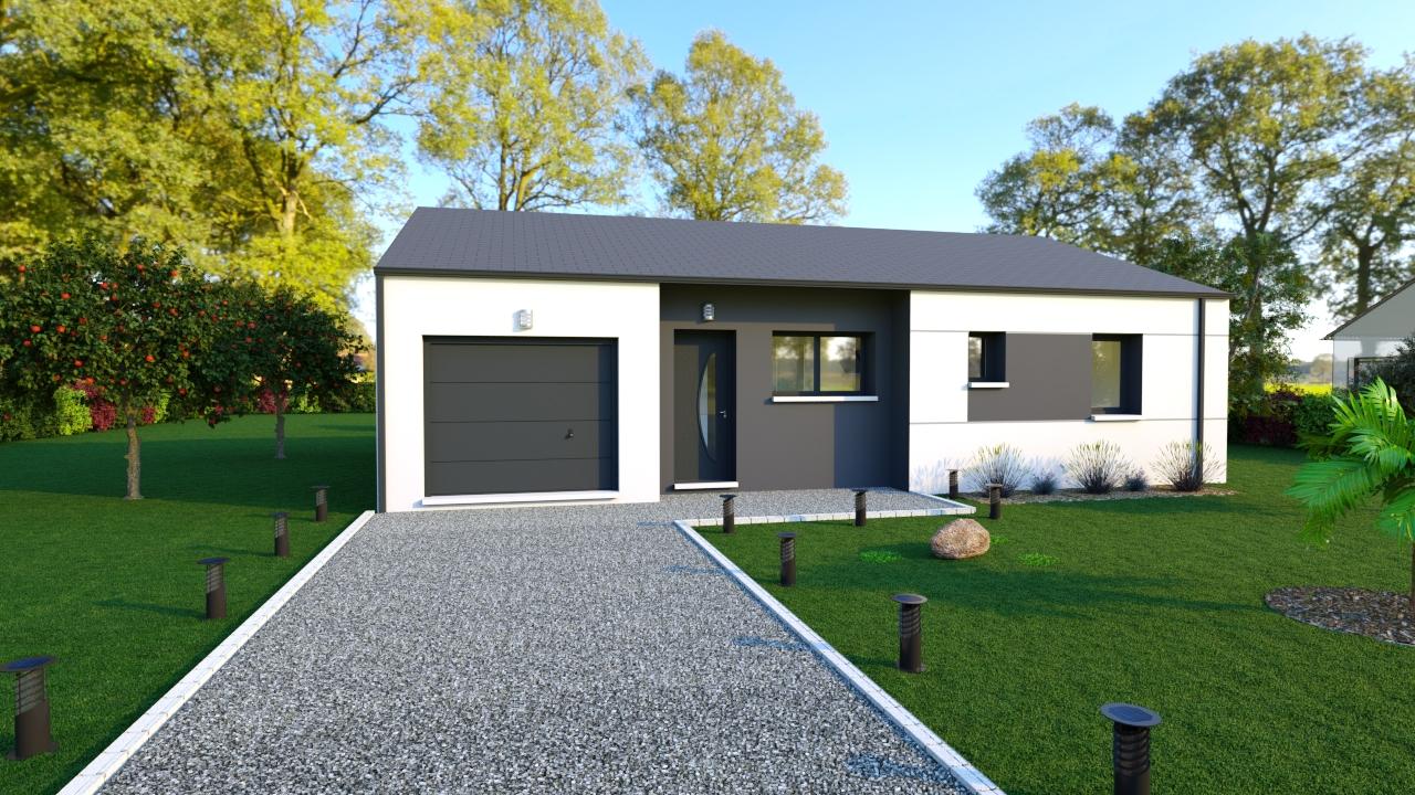 Maisons + Terrains du constructeur DESIGN HABITAT • HERBIGNAC