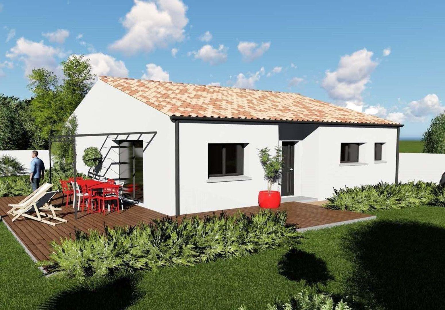 Maisons du constructeur MAISONS IDEOZ 33 • 90 m² • BRAUD ET SAINT LOUIS