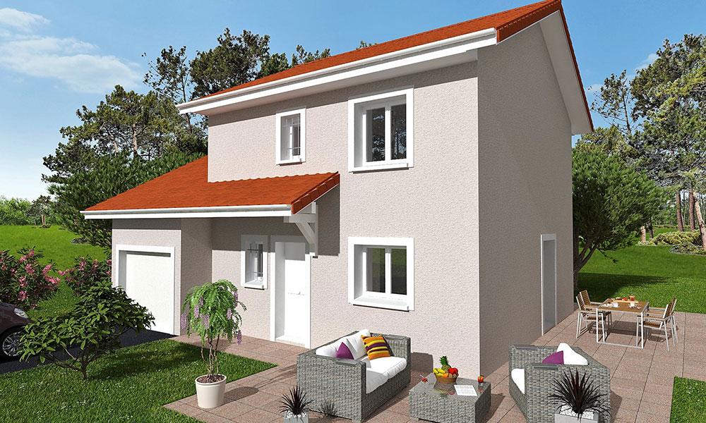 Maisons + Terrains du constructeur KP CONSTRUCTION • 97 m² • SAINT PAUL DE VARCES