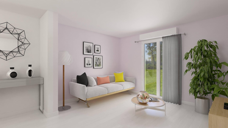 Maisons + Terrains du constructeur HABITAT CONCEPT • 98 m² • JOUY LE MOUTIER