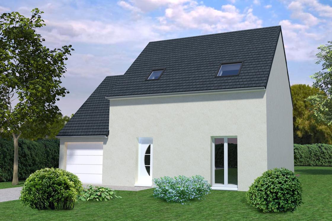 Maisons + Terrains du constructeur MAISONS AVENIR •  m² • VER LES CHARTRES