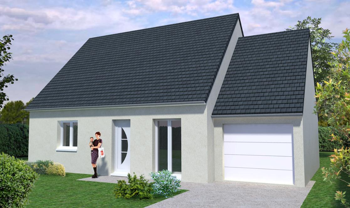 Maisons + Terrains du constructeur MAISONS AVENIR • COURVILLE SUR EURE