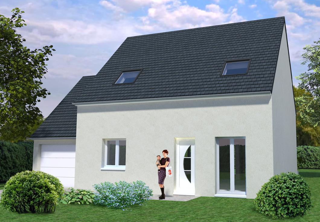 Maisons + Terrains du constructeur MAISONS AVENIR • NOGENT LE PHAYE