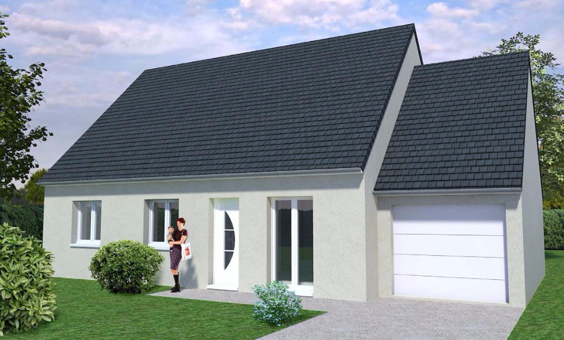 Maisons + Terrains du constructeur MAISONS AVENIR •  m² • BONNEVAL