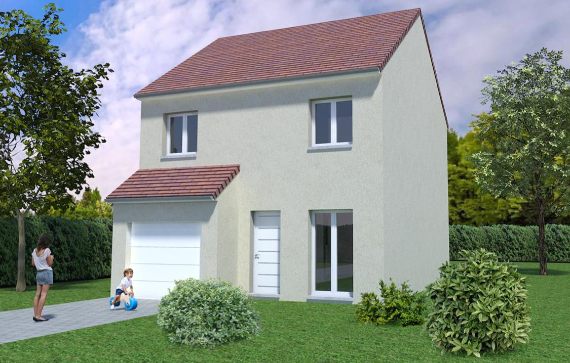 Maisons + Terrains du constructeur MAISONS AVENIR •  m² • SAINT GEORGES SUR EURE