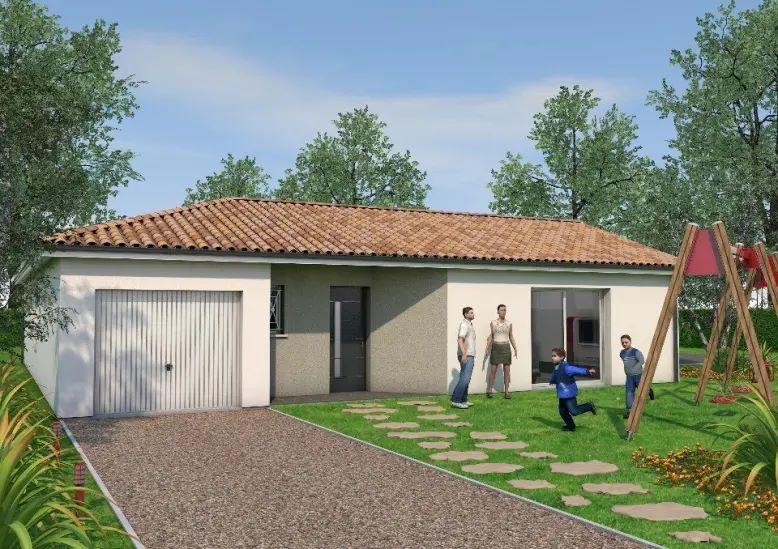 Maisons + Terrains du constructeur JM CONCEPT • 80 m² • CORBERE LES CABANES