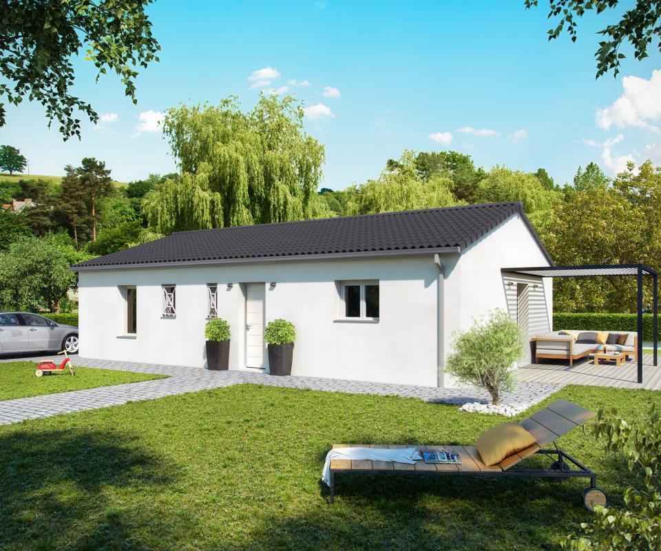 Maisons + Terrains du constructeur COULEUR VILLAS LABENNE • 90 m² • SAINTE MARIE DE GOSSE
