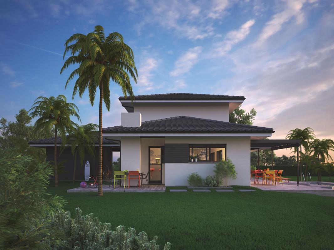 Maisons + Terrains du constructeur COULEUR VILLAS LABENNE • 105 m² • BENESSE MAREMNE