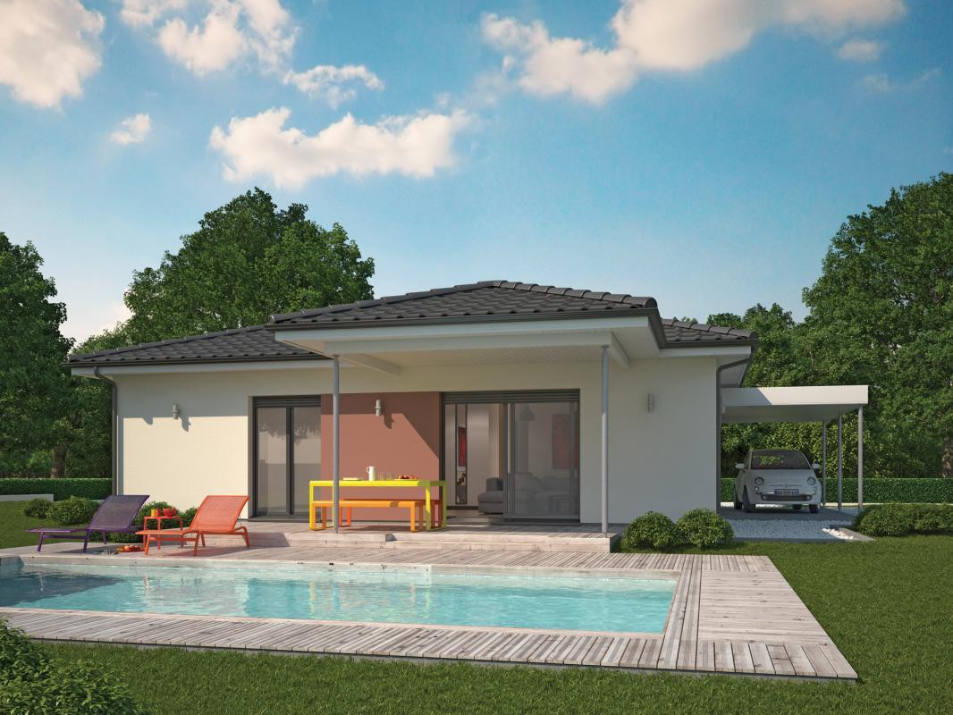 Maisons + Terrains du constructeur COULEUR VILLAS LABENNE • 100 m² • SOUSTONS