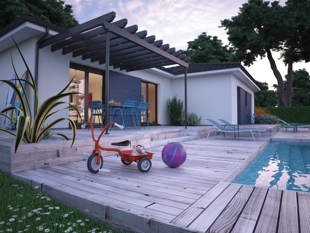 Maisons + Terrains du constructeur COULEUR VILLAS LABENNE • 115 m² • MAGESCQ