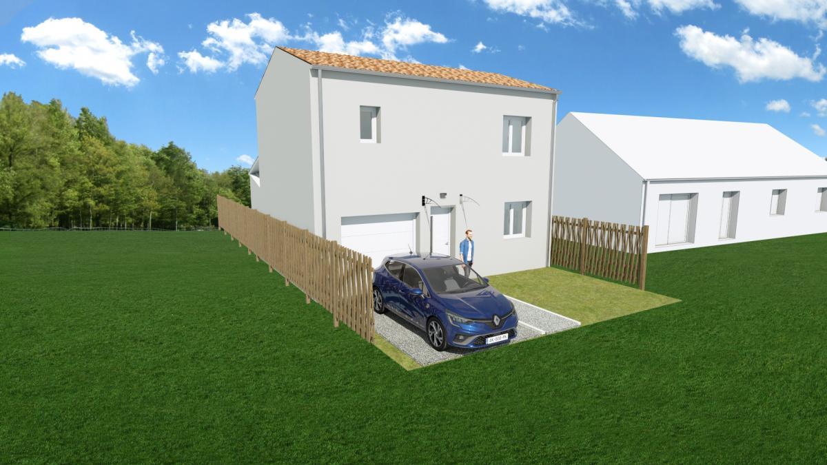 Maisons du constructeur ESQUISS 11 • 85 m² • SAINT COUAT D'AUDE