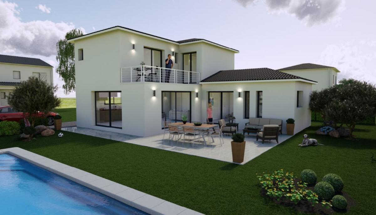 Maisons du constructeur ESQUISS 11 • 90 m² • FERRALS LES CORBIERES