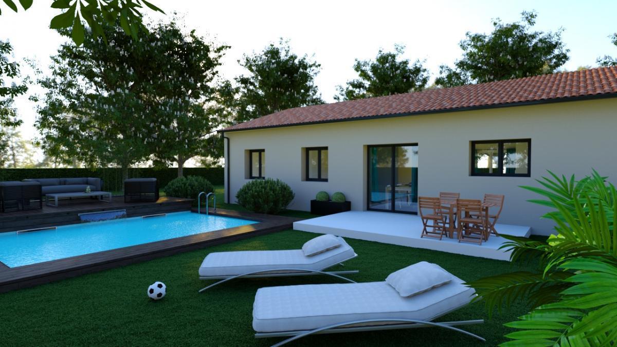 Maisons du constructeur ESQUISS 11 • 75 m² • FERRALS LES CORBIERES