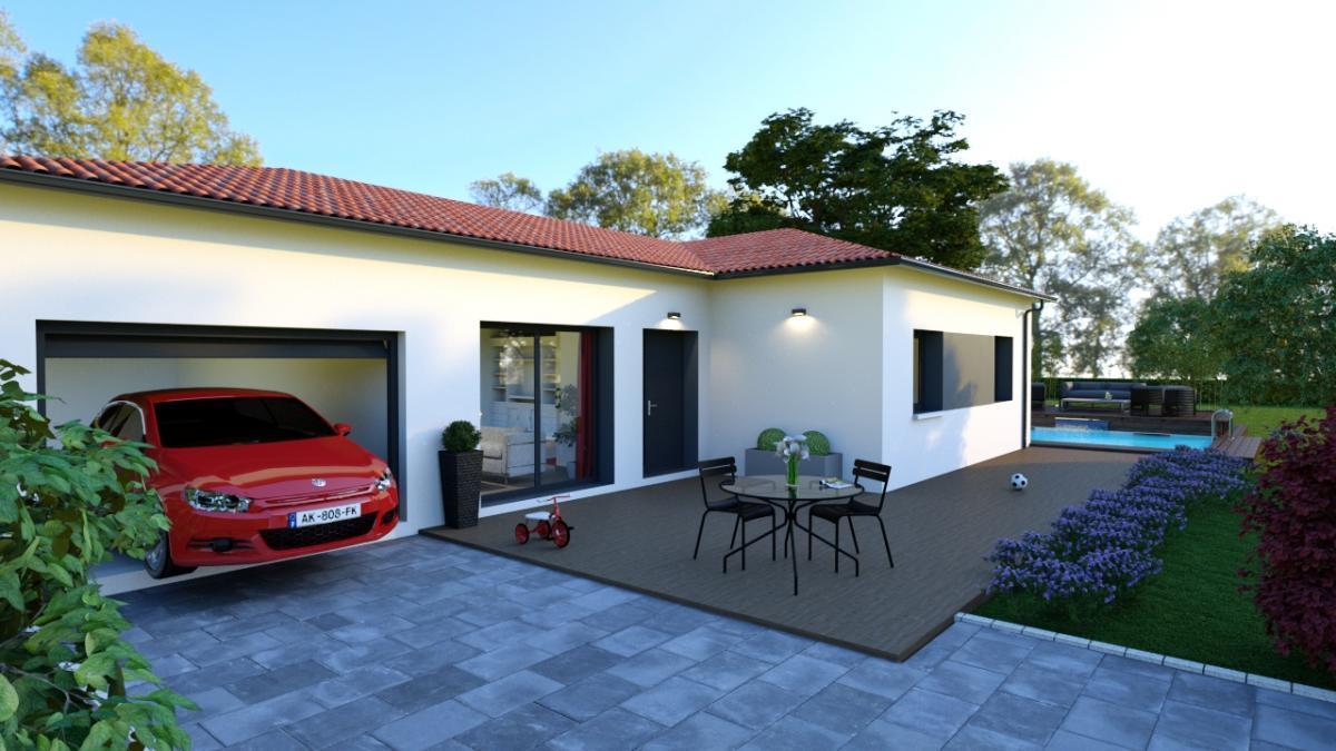 Maisons du constructeur ESQUISS 11 • 90 m² • LA PALME