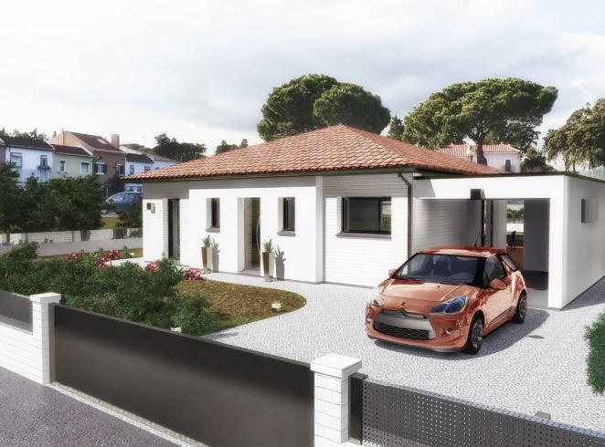 Maisons du constructeur ESQUISS 66 • 100 m² • TAUTAVEL