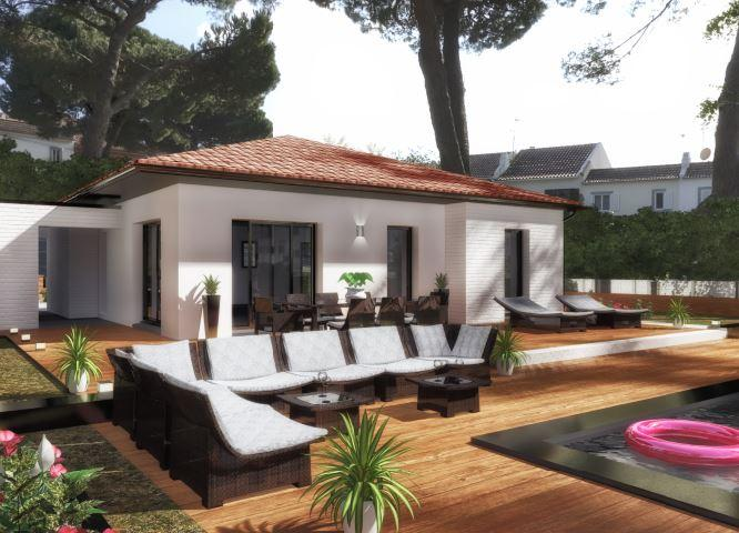 Maisons du constructeur ESQUISS 66 • 100 m² • CLAIRA