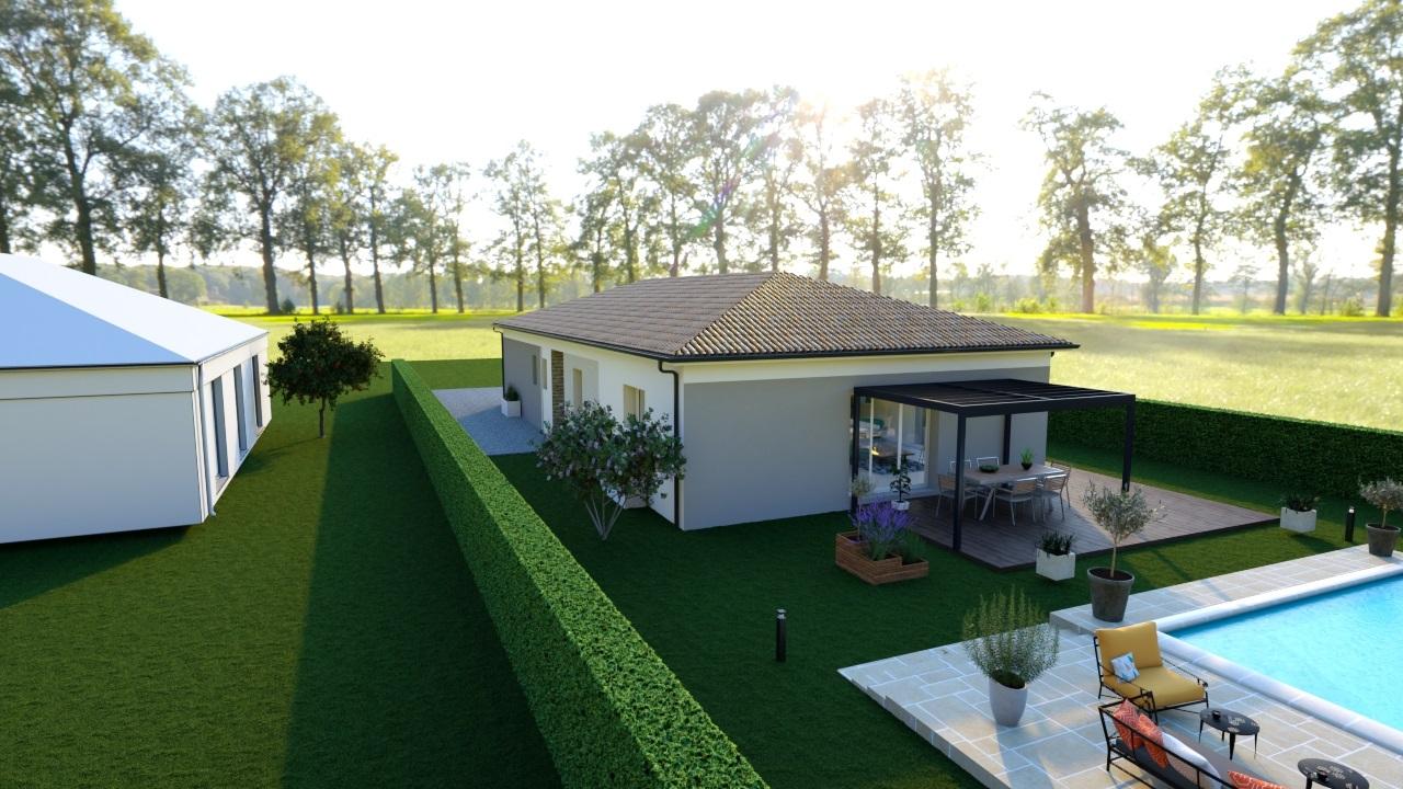 Terrains du constructeur HEXHA CONSTRUCTION • 625 m² • GENISSAC