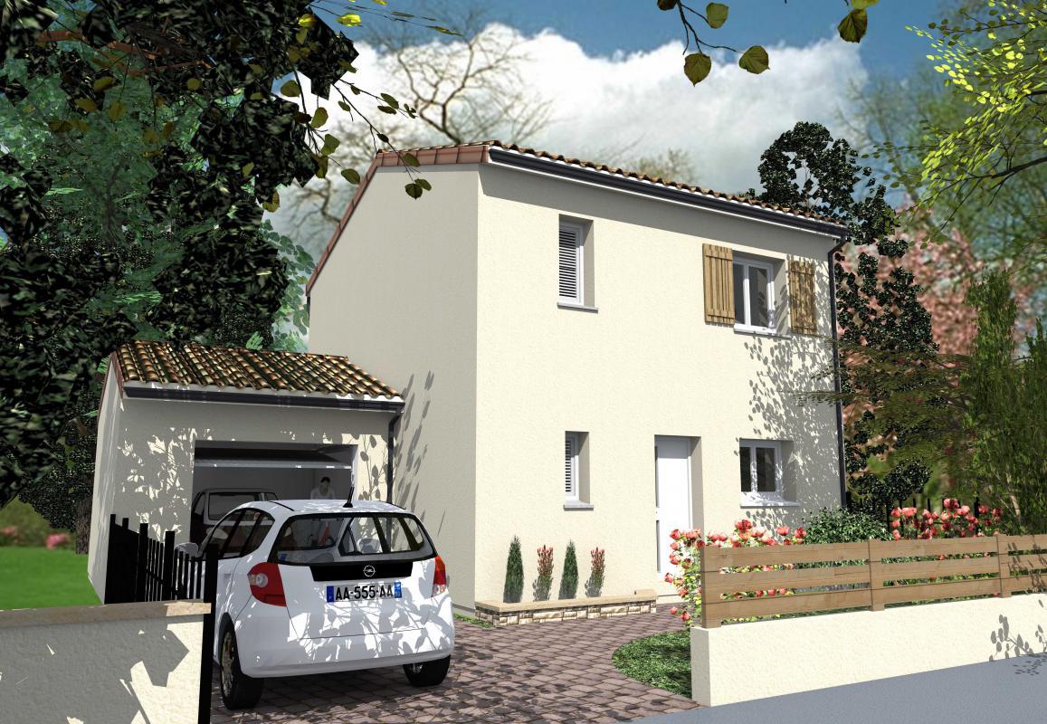 Maisons + Terrains du constructeur HEXHA CONSTRUCTION • 91 m² • SALLES