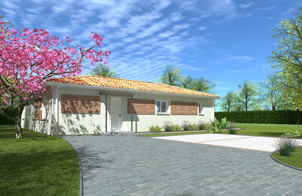 Maisons + Terrains du constructeur HEXHA CONSTRUCTION • 130 m² • SALLES