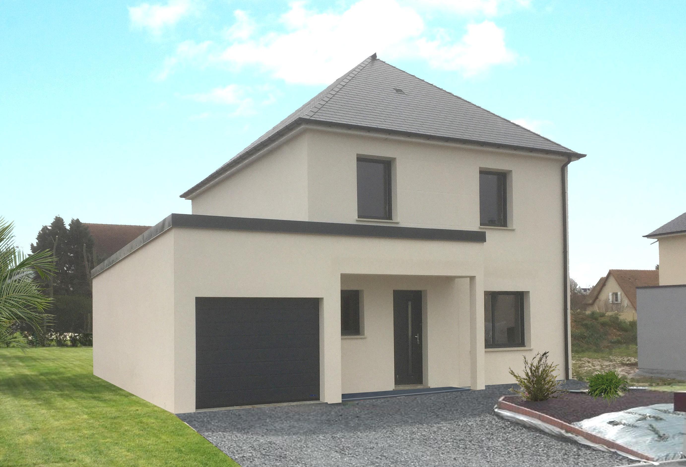 Maisons + Terrains du constructeur MAISON FAMILIALE HERBLAY • 103 m² • ERMONT