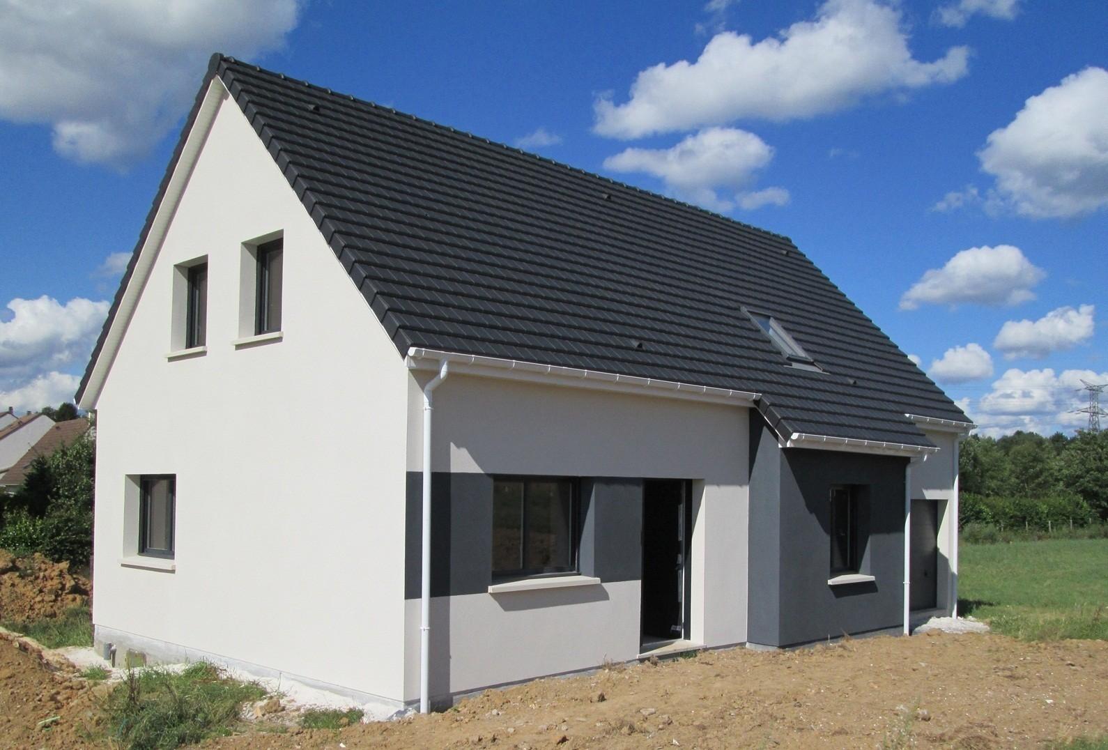 Maisons + Terrains du constructeur MAISON FAMILIALE HERBLAY • 110 m² • VILLIERS ADAM