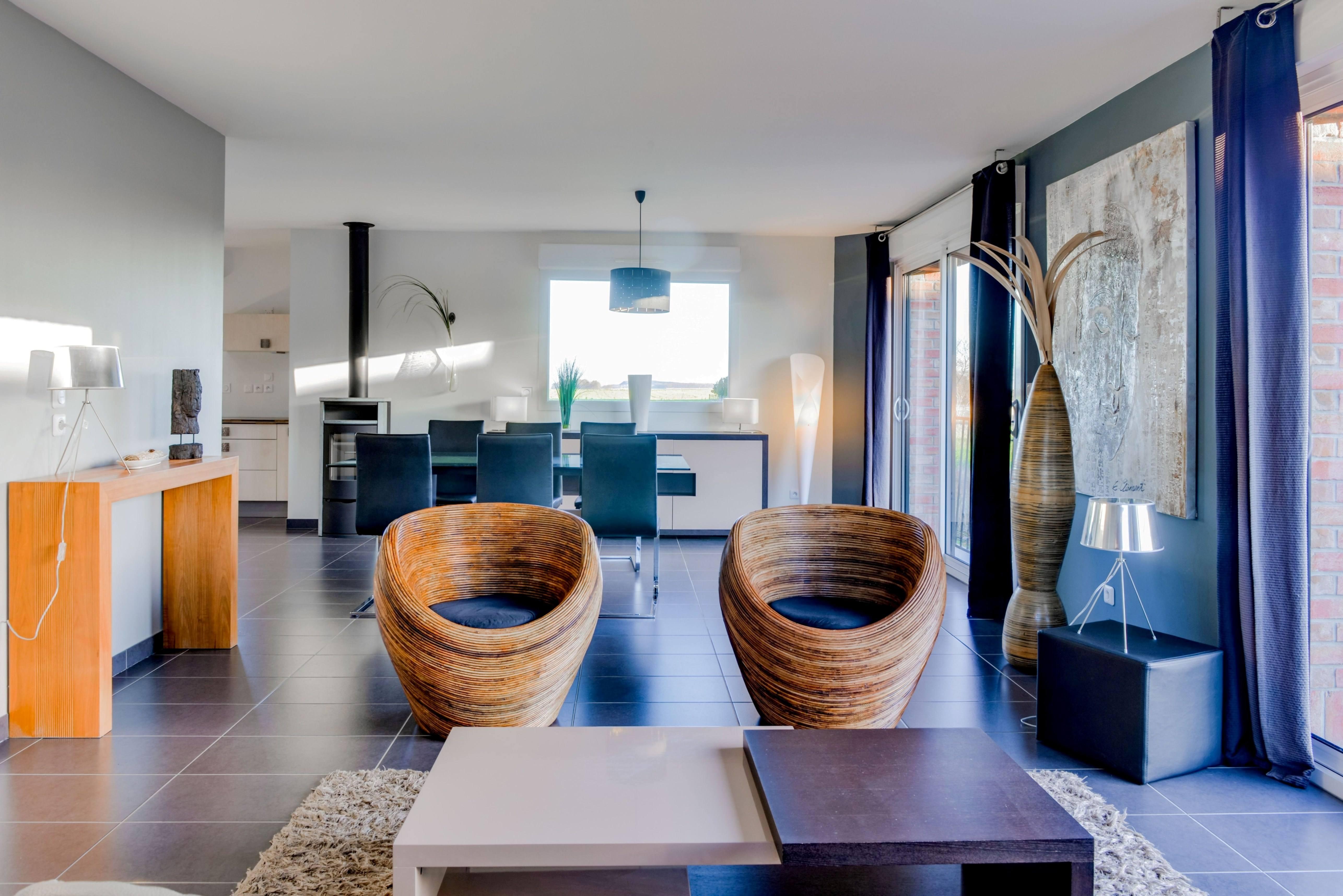 Maisons + Terrains du constructeur MAISON FAMILIALE HERBLAY • 125 m² • HERBEVILLE