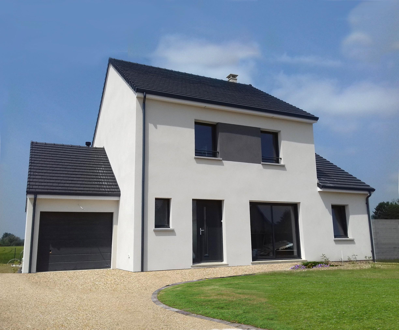 Maisons + Terrains du constructeur MAISON FAMILIALE HERBLAY • 133 m² • MEZIERES SUR SEINE